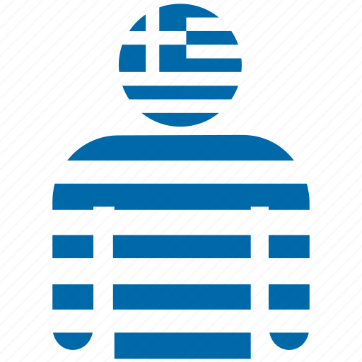 avatar, country, flag, flags, greece, greek, shirt icon