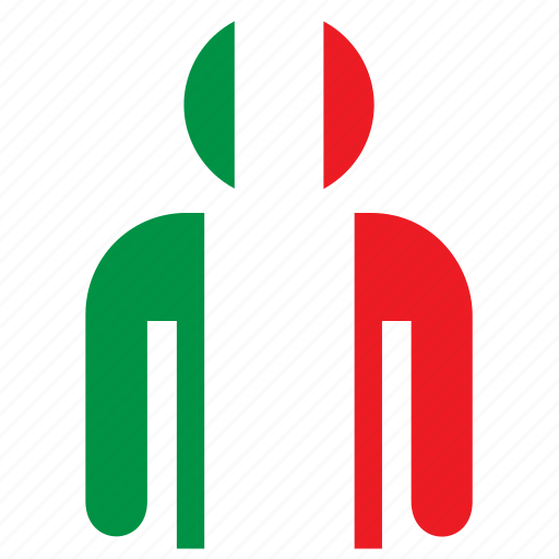 country, flag, flags, italian, italy, jersey, shirt icon