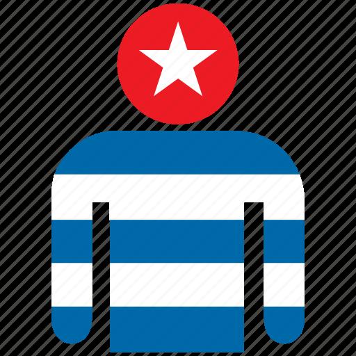 avatar, country, cuba, cuban, flag, flags, shirt icon