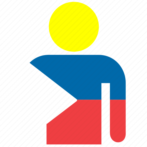 country, flag, flags, jersey, philippines, shirt, t-shirt icon