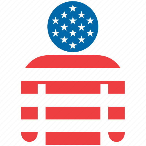 america, american, country, flag, united states, us, usa icon