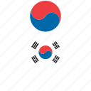 country, flag, flags, korea, korean, shirt, south korea icon