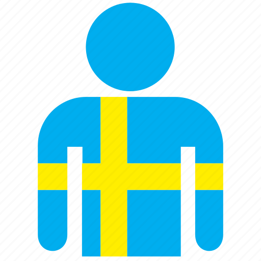 country, flag, flags, jersey, shirt, sweden, swedish icon