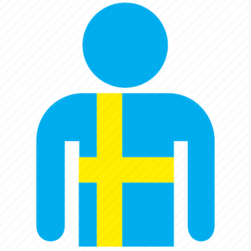 country, flag, flags, shirt, sweden, swedish icon