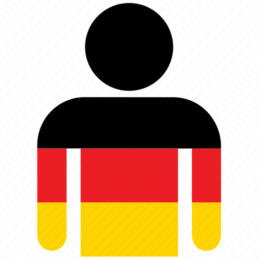 avatar, country, flag, flags, german, germany, shirt icon