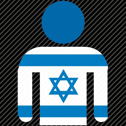 avatar, country, flag, flags, israel, israeli, shirt icon