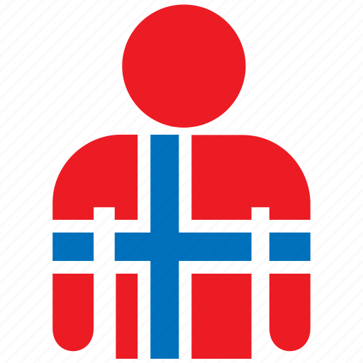 country, flag, flags, jersey, norway, norwegian, shirt icon