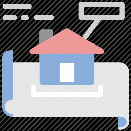 apartment, architect, design, plan, scheme icon
