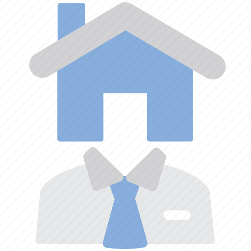 house, manager, property, real estate icon