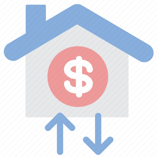 home, investment, loan, mortgage icon