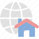 global, location, map, real estate icon