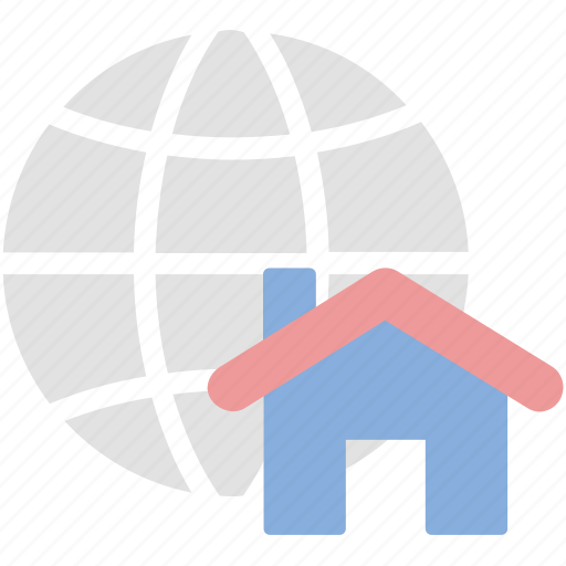 Map, global, location, real estate icon - Download