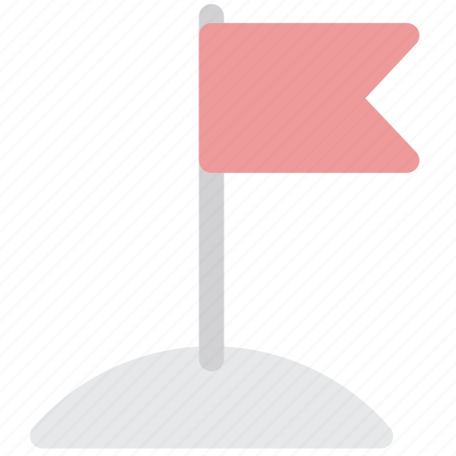 finish, flag, milestone, stop point icon