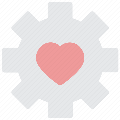 favorite, heart, like, setting icon