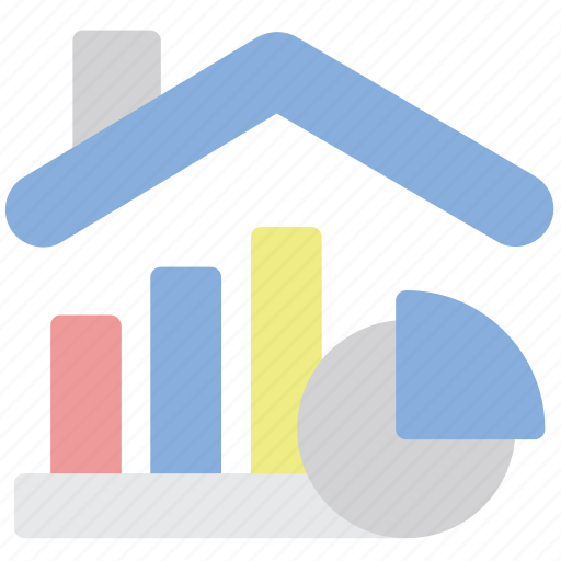 House, price, growth, market icon - Download on Iconfinder