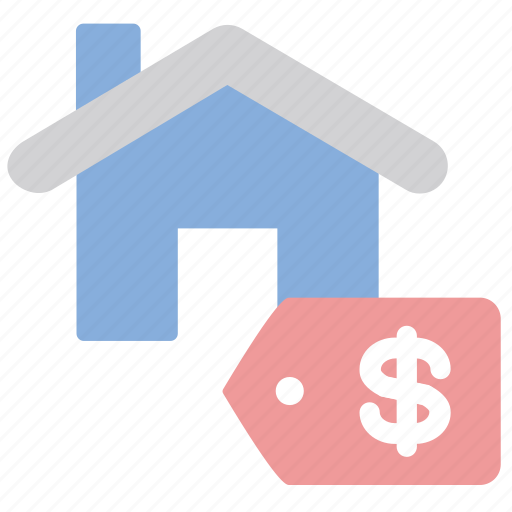 house, price, sale, tag icon