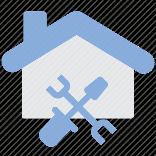 construction, home, renovation, repair icon