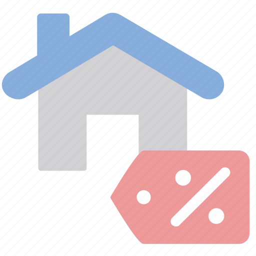 House, price, tag, sale icon