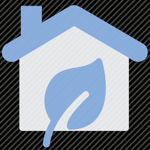 eco, ecology, house icon