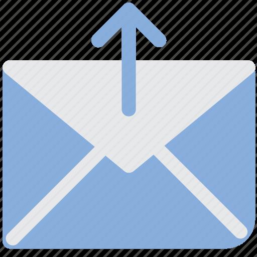 email, envelope, letter, mail, send, sent icon