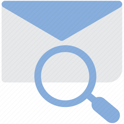 email, envelope, find, search icon