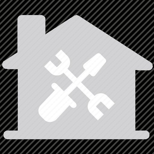 contruction, home, renovation, repair icon
