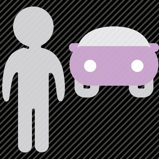 driver, human, license, user icon