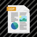 format, odp, openoffice, slide, file, presentation, powerpoint
