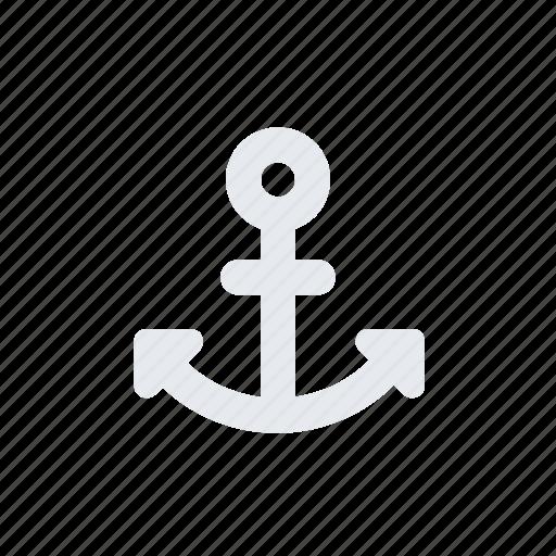 anchor, boat anchor, marine, nautical, sailor anchor, sea, ship icon