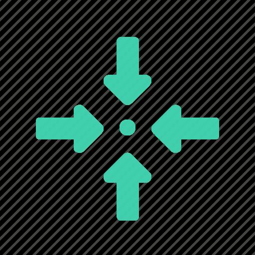 arrows, center icon
