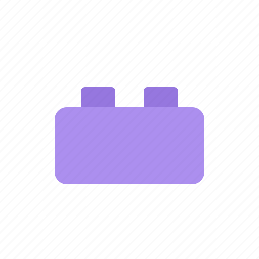 brick, cube, plug, plugin icon