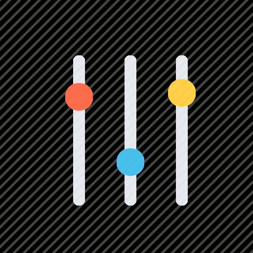 filter, setup icon