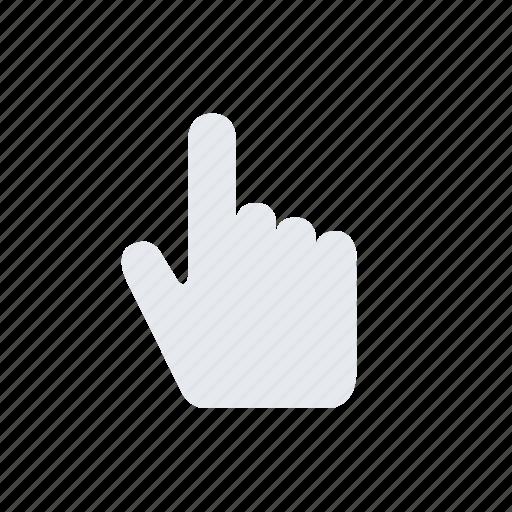 Cursor, hand, pointer icon - Download on Iconfinder