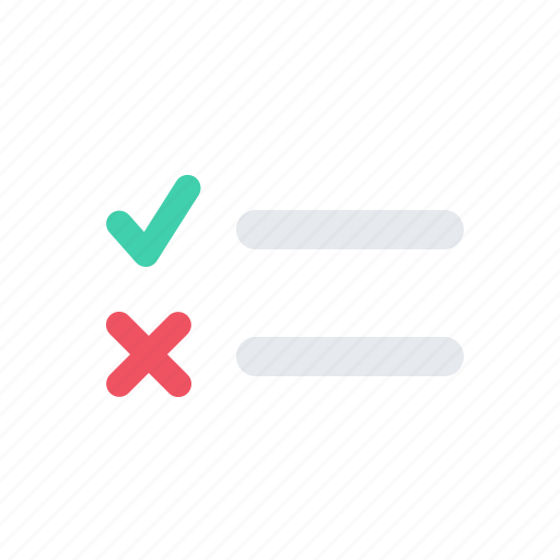 checklist, list, petition, poll, survey, tasks, todo icon