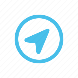 arrow, gps, location, navigation icon