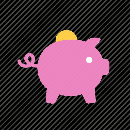 coin, guardar, money, moneybox, save, savings icon