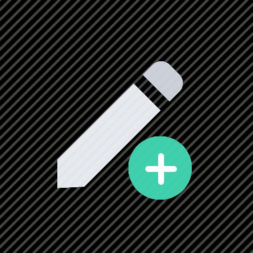 add, message, pencil, plus icon