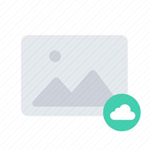 cloud, gallery, image, photo, picture icon