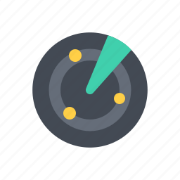 nearby, radar icon