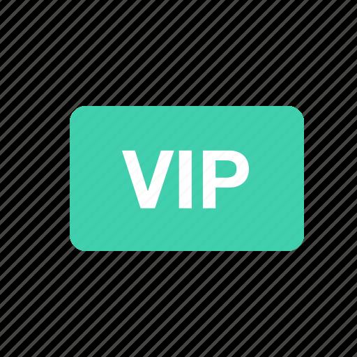 sign, vip icon