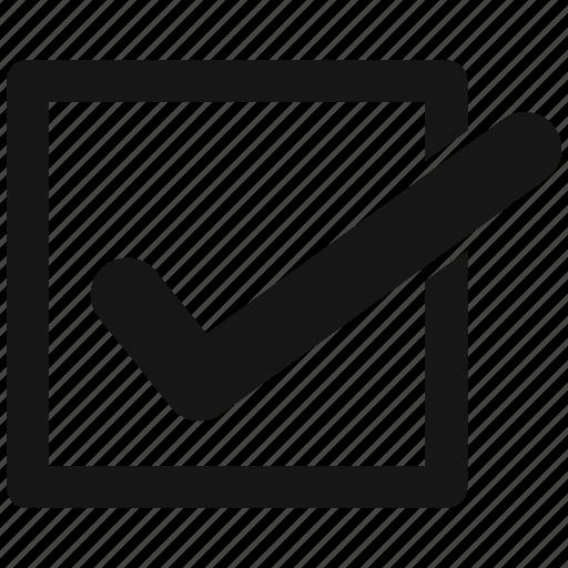 check, complete, mark icon
