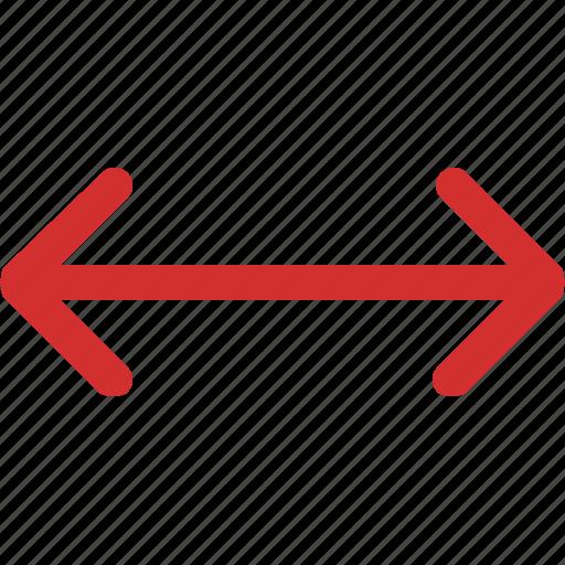 arrows, left, right icon