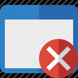 application, cancel, window icon