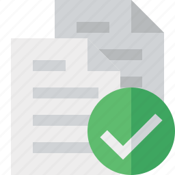 copy, documents, duplicate, files, ok icon