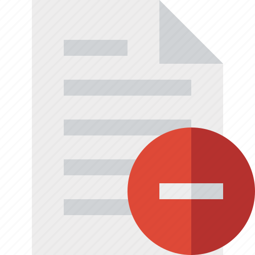 document, file, page, paper, stop icon