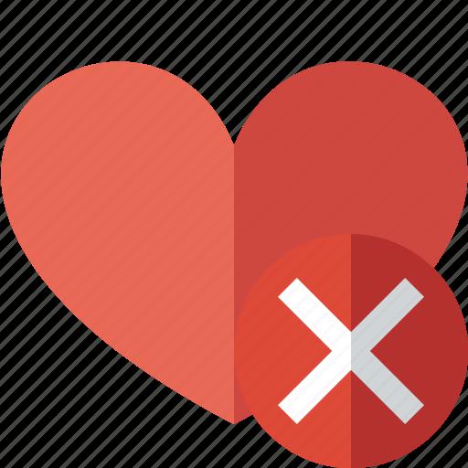 cancel, favorites, heart, love icon
