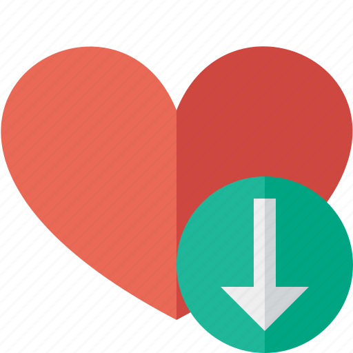 download, favorites, heart, love icon