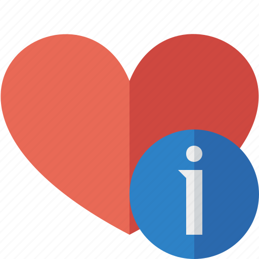 favorites, heart, information, love icon