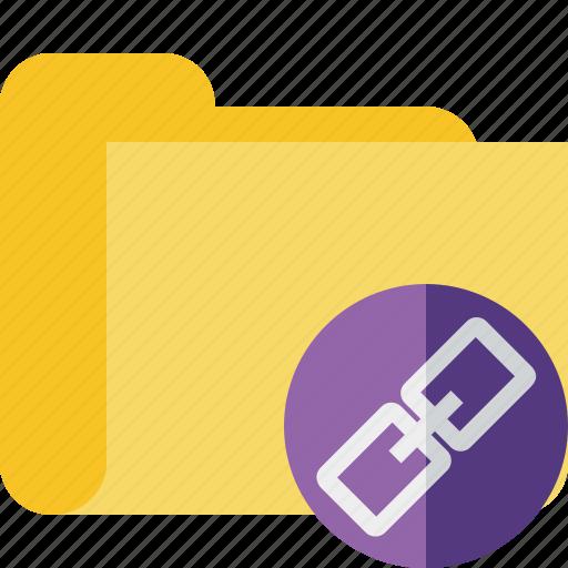 category, folder, link icon