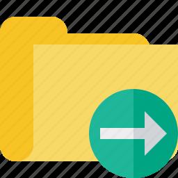 category, folder, next icon